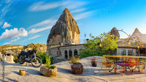 Photo View of the city of Goreme