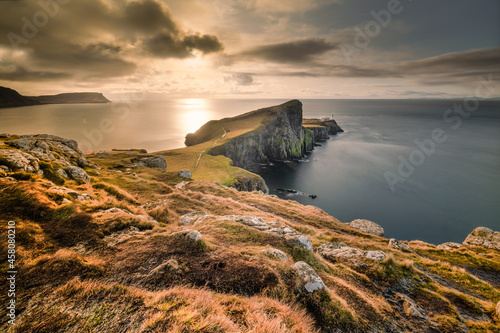 Fotografie, Obraz Nest point lighthouse Scotland Isle of Skye
