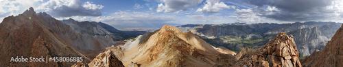 Fotografia, Obraz Piute Crags Mountain Panorama