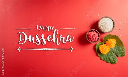 Canvas Print Happy Dussehra