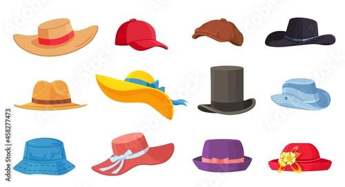 Fotografering Cartoon hats