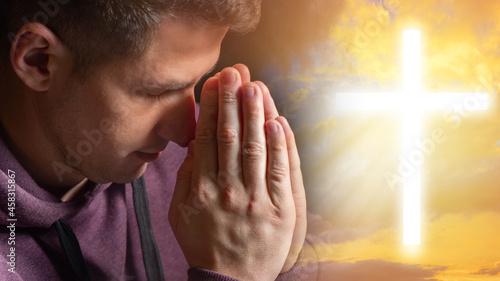 Foto Catholic is praying