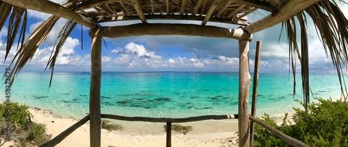 Scenic View Of Beach Against Sky At Cayo Santa Maria Cuba