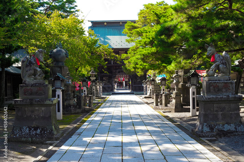 竹駒神社 日本三大稲荷 宮城県岩沼市 Fototapet
