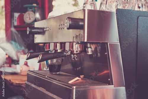 Billede på lærred Coffee Machine