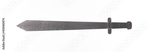 Obraz na plátně spartan sword isolated on white background