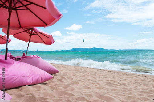 Fototapeta Scenic View Of Beach Against Sky