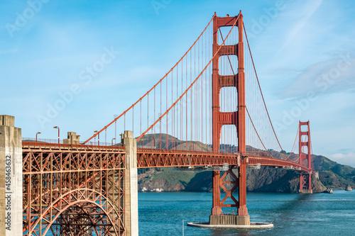 Obraz na plátně The Golden Gate Bridge