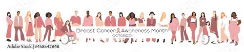 Fotografia Breast cancer awareness month concept