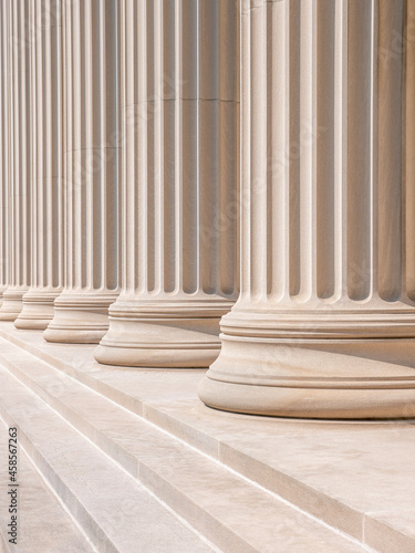 Obraz na plátně Neoclassical Columns