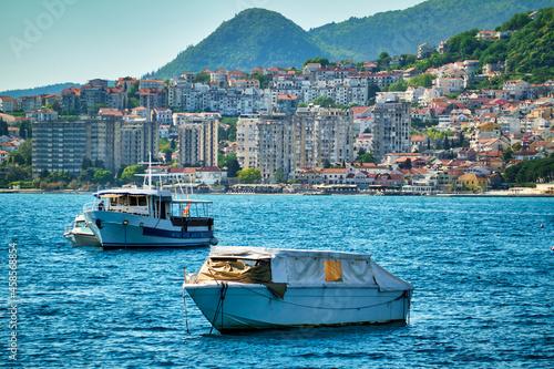Fototapeta boats in the bay