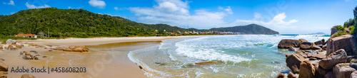 Canvastavla panorâmica da Praia Brava Florianopolis Santa Catarina Brasil Florianópolis