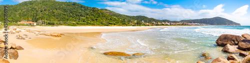 Fotografiet Panorâmica da Praia Brava Florianopolis Santa Catarina Brasil Florianópolis