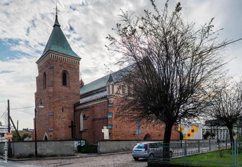 Warta, gotycki kościół parafialny św. Mikołaja