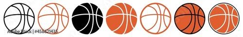 Fotografia Basketball | Ball | Emblem | Logo | Variations