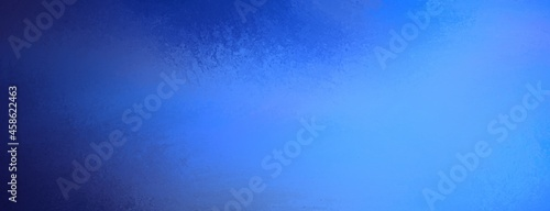 Fotografie, Obraz stormy blue background, light blue color with dark navy blue distressed grunge b