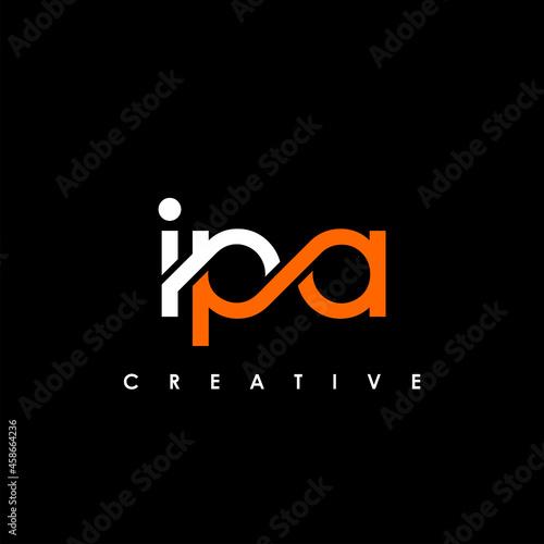 Fototapeta IPA Letter Initial Logo Design Template Vector Illustration