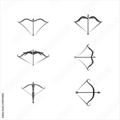 Fototapeta Crossbow Vector icon design illustration