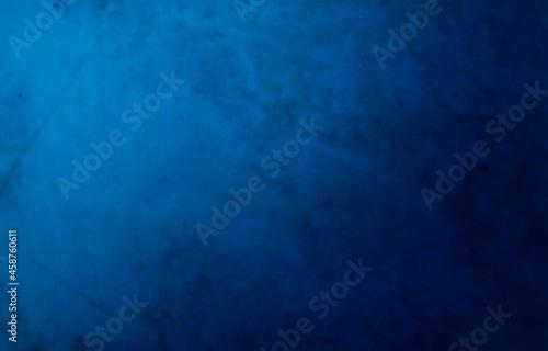 Obraz na plátně abstract stone with blue gradient background