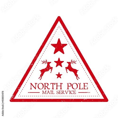 Fototapeta North pole mail service