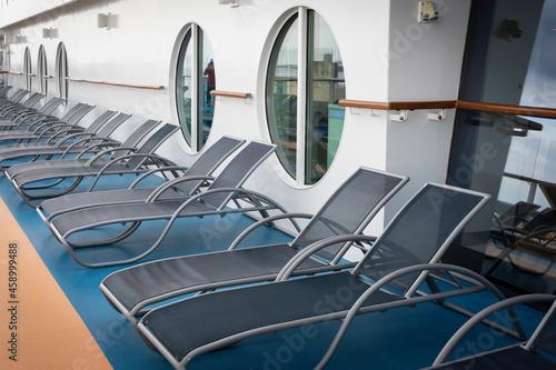 Canvas Cruise deckchairs