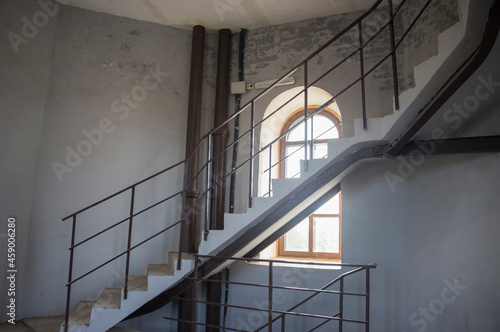 Fototapeta Spiral staircase of the water tower