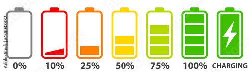Photo Battery charge level set
