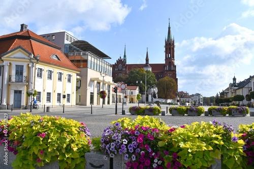 Białystok, Rynek, stare miasto, Podlaskie,