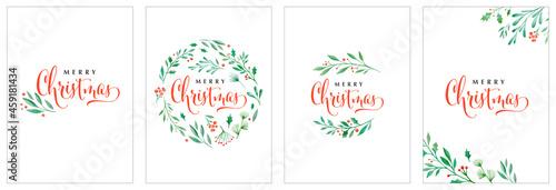 Fotografie, Obraz Merry Christmas background