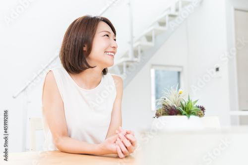Obraz na plátne リラックスする女性