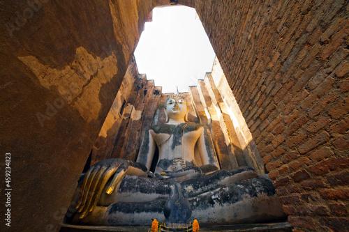 Fotografie, Obraz Sukhothai Historical Park, Thailand, World Heritage Site, UNESCO.