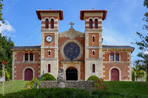 Notre Dame des Passes, Arcachon Fototapet