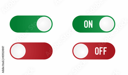 Fotografia Turn on and off mode switch