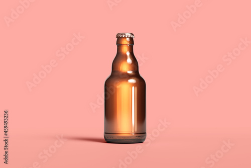 Valokuvatapetti Beer Bottle