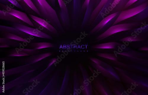 Slika na platnu Concentric scale shapes background