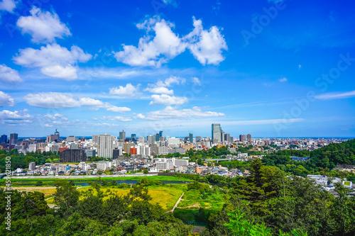 Fotografie, Obraz 仙台市の都市風景