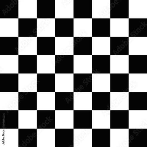 Fotografie, Tablou black and white chess board