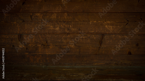 Foto old brown rustic dark wooden texture - wood timber background