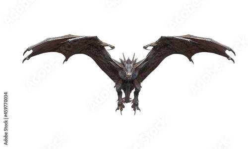 Billede på lærred master dragon is coming