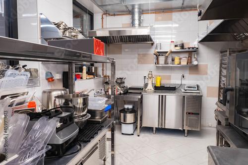 Canvas Print Restaurant kitchen