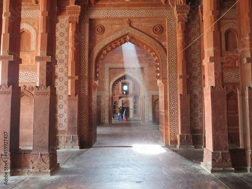 Billede på lærred Archways India