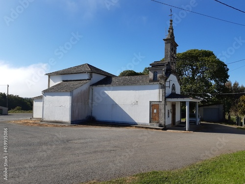 Fachada de Iglesia parroquial en Vilalba, Galicia Fototapet