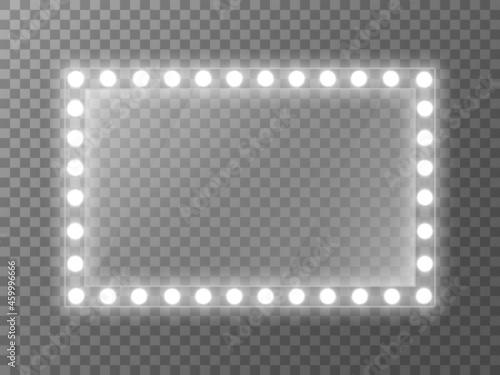 Obraz na plátně Mirror light