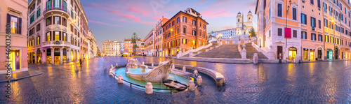 Piazza de Spagna Spanish in Rome Italy Photo