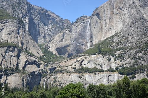 Wallpaper Mural Wasserfall im Yosemite National Park, Kalifornien