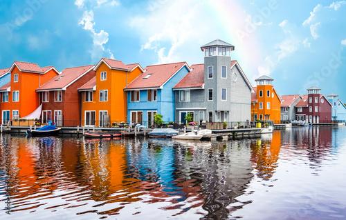 Valokuva Reitdiep, Groningen, Groningen Province, The Netherlands