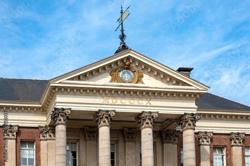 Fotografia, Obraz City Hall, Groningen, Groningen Province, The Netherlands