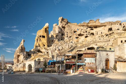 Fotografiet Turkey, Cappadocia, Cavusin, St
