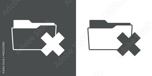 Valokuva Símbolo error o eliminación