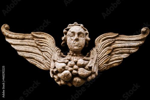 An angel with wings Fotobehang